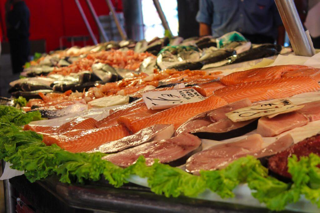 Fischmarkt in Düsseldorf